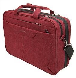 KROSER Laptop Bag 15.6 inch Briefcase Laptop Messenger Bag W