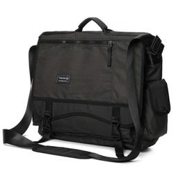 Nicgid Large Messenger Bag, 17.3-Inch Laptop Messenger Bag B