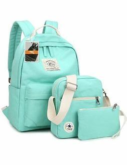 Leaper Laptop Bag School Backpack Messenger Bag Purse Pen Ba