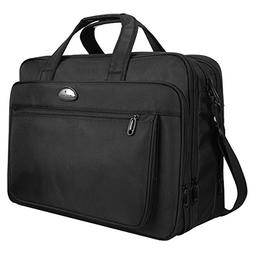 Laptop Bag, 18 Inch Laptop Briefcase, Travel Messenger Bag w