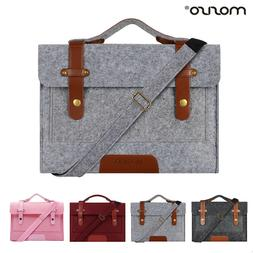Mosiso Laptop Felt Messenger Bag Case for Macbook Air Pro 11