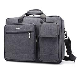 CoolBELL 17.3 Inch Laptop Messenger Bag Briefcase Protective