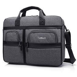 CoolBELL 17.3 Inch Laptop Messenger Bag/Durable Business Bri
