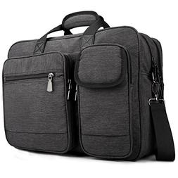 Tocode Laptop Messenger Bag 17.3 inch Multi-Functional Prote