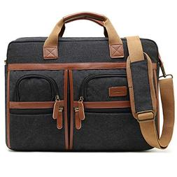 CoolBELL 17.3 Inches Laptop Messenger Bag Protective Shoulde