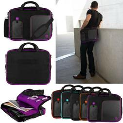 """VanGoddy Laptop Sleeve Case Shoulder Messenger Bag For 15.6"""""""