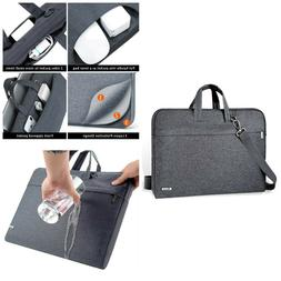 Laptop Sleeve Case Shoulder Straps Messenger Bags Water Resi