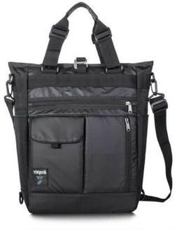Leaper LE9012 Mens 4Way Tote Shoulder Bag Backpack Black Jap