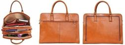 Banuce Leather Brief Case