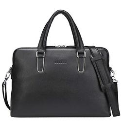 Banuce Leather Briefcase for Women 14 Inch Laptop Bag Handba