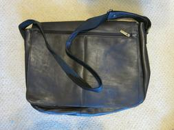 Leather messenger bag laptop briefcase Made in Colombia