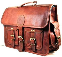 Urban dezire Leather Messenger bag Shoulder Men Laptop Brief
