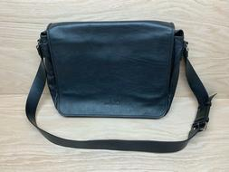 COLE HAAN Leather Messenger Bag USA Business Briefcase Lapto