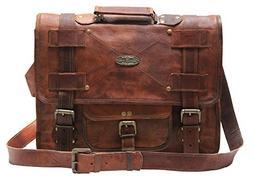 Handmade_world Leather Messenger Bags for Men Women Mens Bri