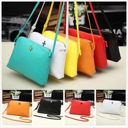 Women's Leather Shoulder Bag Satchel Handbag Tote Hobo Cro