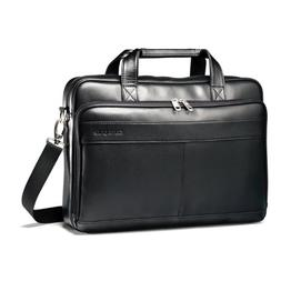 Samsonite Leather Slim Laptop Brief