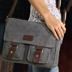 Male Retro Shoulder Bag Travel Messenger Bags Causal Men Bag