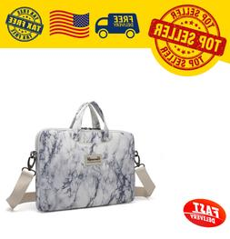 Canvaslife Marble Pattern Waterproof Laptop Shoulder Messeng