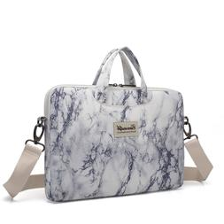 Canvaslife Marble Pattern Canvas Laptop Shoulder Messenger B