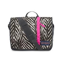 JanSport Market Street Laptop Messenger Bag - Grey Tar Wild