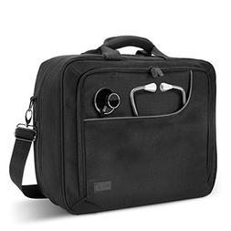 USA Gear Medical Equipment Supplies Bag for Doctors, Pharmac