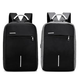"Men Backpack 15.6"" Notebook Laptop Waterproof USB Charging T"