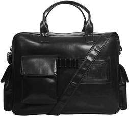 Men Bags Black Messenger Laptop and Other Accessories Leathe