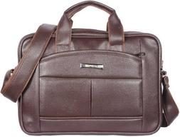 Men Bags Brown Messenger Laptop and Other Accessories Leathe