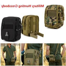 Men Cycling Equipment Bag Small Military Hunting Crossbody T