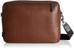 ECCO Men's Eday L Laptop Messenger Bag, Mahogany, One Size