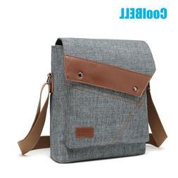 CoolBELL Men Messenger Sling Shoulder Bag Multi Pocket Satch