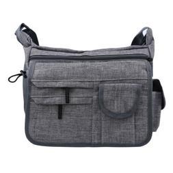Men Retro Schoolbag Casual Travel Portable Shoulder Messenge