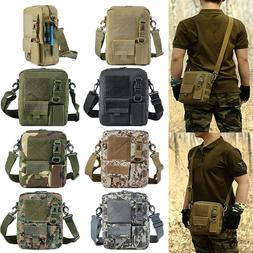 Men's Backpack Molle Tactical Sling Chest Bag Casual Pack Me