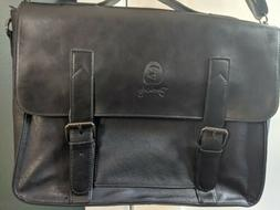 Men's Berchirly Black Leather Bag New without Tags.