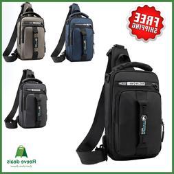 Men's Crossbody Shoulder Chest Sling Backpack Bag Messenger