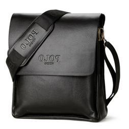 Men's Leather Business Briefcase Shoulder Bag Messenger Bags