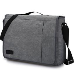 Men's Messenger Bag Shoulder Bag Fits Up 15.6 inch Laptop Br