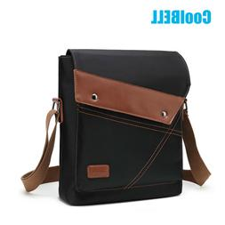 CoolBELL Men's Messenger Sling Shoulder Bag Laptop Crossbody