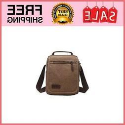 Mygreen Men's Multifunctional Canvas Shoulder Bag Handbag Mu