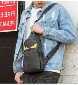men s oxford chest pack sling crossbody