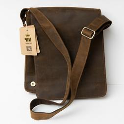Kattee Men's Vintage Genuine Leather Messenger Bag
