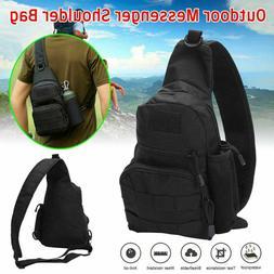Men Small Chest-Bag Pack Outdoor Travel Sport Shoulder Sling