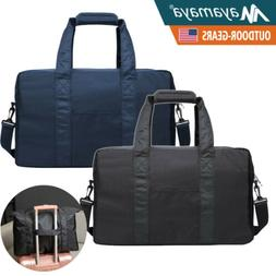 Men Travel Gym Duffle Bag Sports Flight Carry Weekend Should