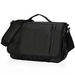 Waterproof Mens Medium Messenger Shoulder Bag Briefcase 15.6