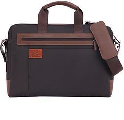 "Banuce 15"" Laptop Tablet Bag Oxford Nylon Waterproof Busines"