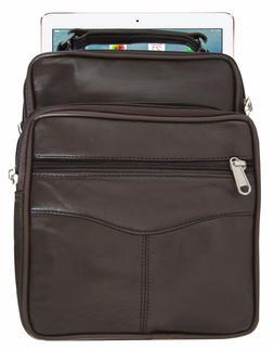 Mens Leather Cross body Messenger Shoulder Bag Small Handbag