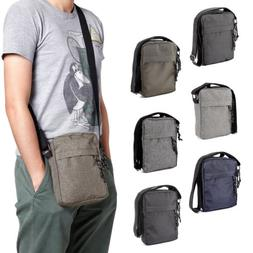 Mens Travel Messenger Bag Shoulder Bag Crossbody Handbag Sma
