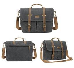 "Coolbell Messenger Bag, Black.  Fits 17.3"" Laptop.  CB-511"