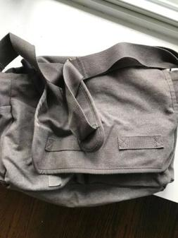 Messenger Bag, Canvas Bag, Canvas Messenger Bag,