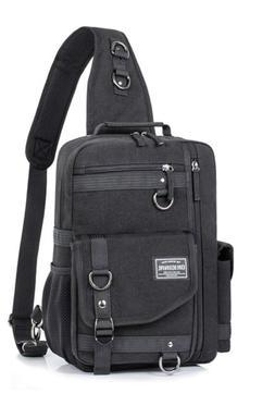 Leaper Messenger Bag for Men, Cross Body Shoulder Sling Bag